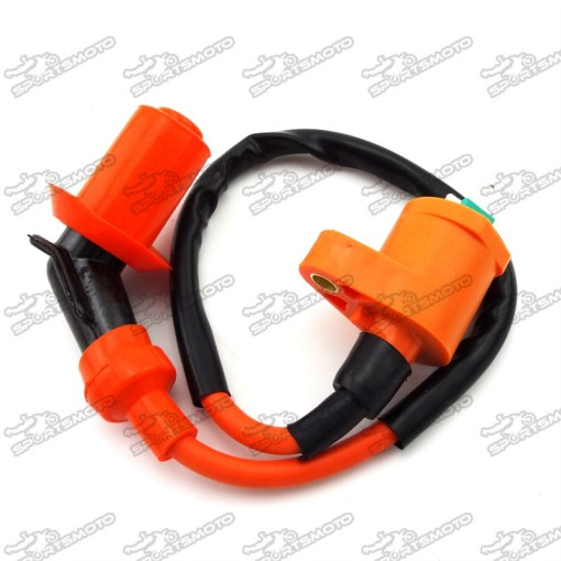 Ignition Coil For 139QMB 157QMJ 50cc 125cc 150cc Scooter Moped ATV Go Kart Buggy