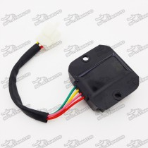 4 Pins Male Plug Voltage Regulator Rectifier For GY6 50cc 125cc 150cc Engine Scooter Moped Motocross Motorcycle