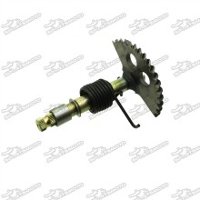 129mm Kick Start Shaft Gear Spindle For GY6 125cc 150cc Chinese Moped Scooter