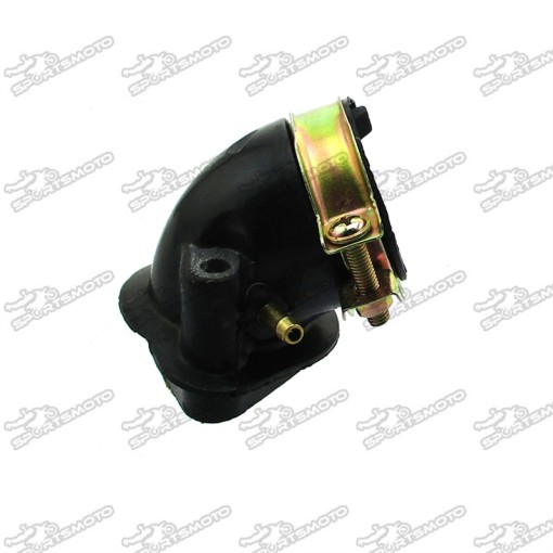 Carburetor Intake Manifold Boot For GY6 125cc 150cc Scooter Moped ATV Quad Go Kart TaoTao Sunl Roketa Jonway Tank Peace