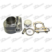 61mm Cylinder 180cc Big Bore Kit For GY6 125cc 150cc 1P52QMI 1P57QMJ Engine Scooter Moped ATV Quad