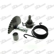 Kick Starter Start Shaft Idle Gear For 49cc 50cc 80cc GY6 139QMB Scooter Moped 4 Stroke Engine 139QMB