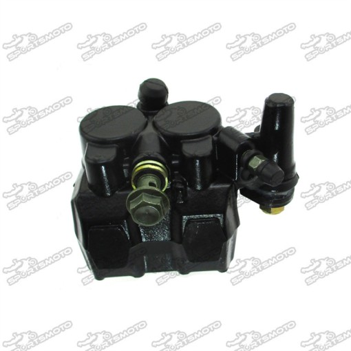 Front Disk Brake Caliper Left For 2 Piston Scooter Moped 50cc 125cc GY6 KYMCO Benzhou JMSTAR Jonway Baotian