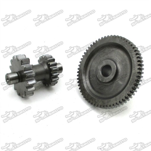 Starter Starting Dual Gears For Zongshen CB250 CB 250cc Air Cool Engine  ATV Quad 4 Wheeler Dirt Motor Bike