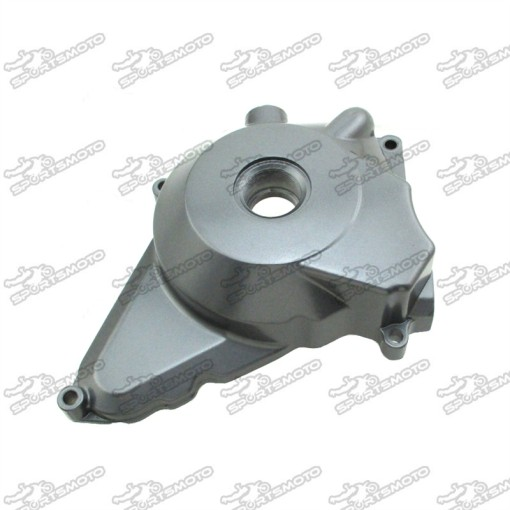 Metal Grey Electric Start Engine Stator Cover For Lifan 50cc 70cc 90cc 110cc 125cc Engine Pit Dirt Bike ATV Quad