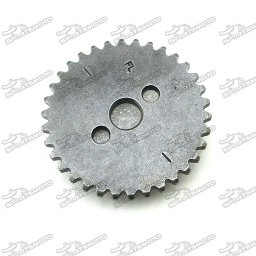 34T Timing Cam Sprocket For Z155 Zongshen 1P60YMJ Engine Pit Dirt Bike Stomp Demon X DHZ Thumpstar Explorer
