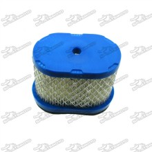 Air Filter For Toro 20027 20038 20796 20783 26634 Briggs & Stratton 498596 498596S 690610 697029 John Deere M147431