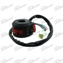 8 Pin Wire Feamle Kill Light Start Switch For Chinese 50cc 70cc 90cc 110cc ATV Quad 4 Wheeler Kazuma Taotao Coolster