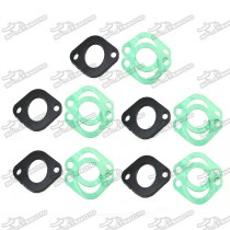 Intake Manifold Spacer Insulator Gasket For Chinese GY6 125cc 150cc Moped Scooter ATV Go Kart