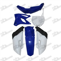 Blue Plastic Fairing Fender Body Kit For Yamaha YZ85 Pit Dirt Bike 2015 2016 2017 2018 2019