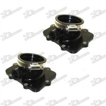 Carburetor Flange Carb Intake Socket For Ski-Doo 420867880 420867882 Snowmobiles Grand Touring 500 600 Sport MXZ 500 Adrenaline