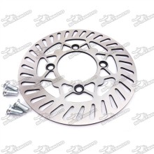 220mm Brake Disc Disk Rotor For 50cc-160cc Chinese Pit Dirt Bike XR50 CRF50 KLX110 SSR Thumpstar