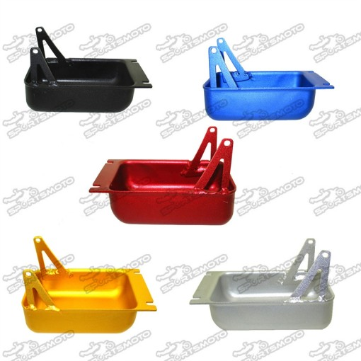 Aluminum Sump Guard Oil Catch Tank Tray For Pit Dirt Bike Supermoto Motorcoss Motorcycle