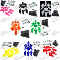 Plastic Fairing Fender Kits Screws Fuel Tank Vent Valve For Honda Dirt XR50 CRF50 Chinese Pit Bike SSR Thumpstar Stomp GPX