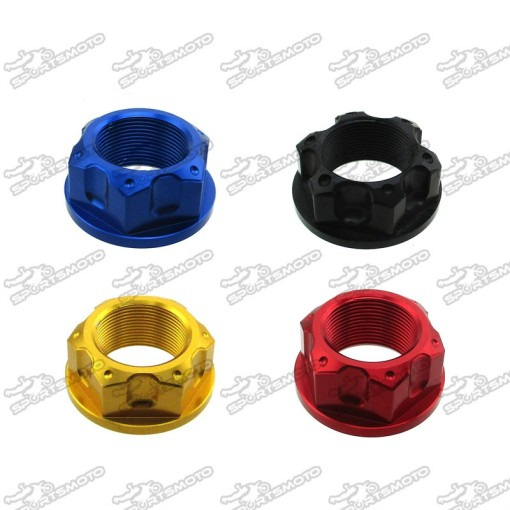 Steering Stem Nut For CRF50 XR50 KLX110 DRZ110 TTR110  Pit Dirt Bike