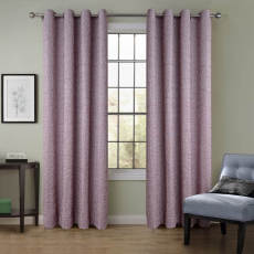 VERSUS Solid Wrinkle Blackout Curtain Drape Antique Bronze Grommet (1 Panel ) For Bedroom Living Room Club Restaurant