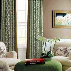 Trellis Print Antique Bronze Grommet Polyester Cotton With Blackout Lined Window Drapes