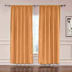 CUSTOM Lao Hang Zhou Copper Polyester Cotton Thermal Insulated Curtain