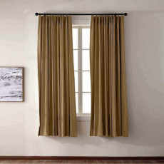CUSTOM EDOARDO Wheat Indoor Blackout Curtain