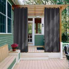 CUSTOM Edoardo Black Outdoor Curtain