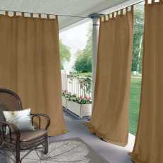 CUSTOM Edoardo Wheat Outdoor Curtain