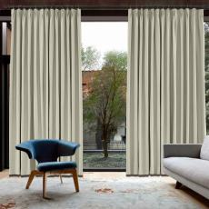 CUSTOM Capri Fog Blackout Curtains with Liner