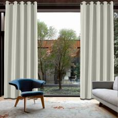 CUSTOM Capri Ivory White Blackout Curtains with Liner
