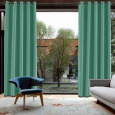 CUSTOM Capri Green Blackout Curtains with Liner