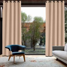 CUSTOM Capri Veiled Rose Blackout Curtains with Liner