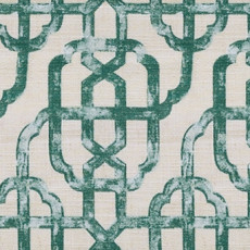 Thea Lattice Print Fabric Swatch Polyester Cotton, Refundable For Order Amount Over $399