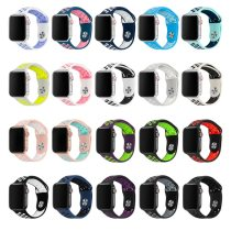 Silicone Replacement Sport Band For Apple Watch Band 38mm 40mm 42mm 44mm Bracelet Watch Strap For iWatch Series 4/3/2/1 81010