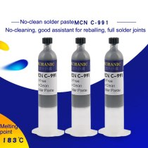 MECHANIC C-991 No Clean Solder Paste High Resistance Strong Activity Tin Paste For Motherboard PCB Repair