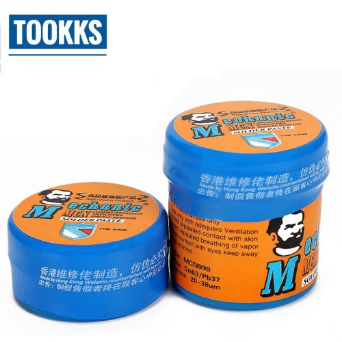 20g/40g MCN999 Solder Paste SMT Low Temperature Melting Point 183 Degree Centigrade Environmental Protection Flux Paste