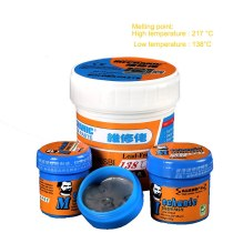 MECHANIC Environmentally Lead-free Solder Paste Low Temperature Melting Point CPU Rework Solder Paste Rosin Flux