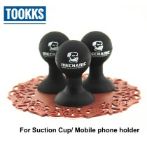 Mechanic Universal Phone Holder Stander Monopod Mobile Phone Silicone Rubber Octopus Sucker Ball Stand Holder For iPhone Samsung