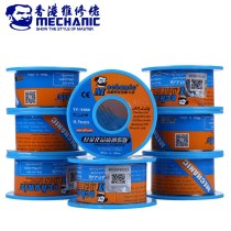 MECHANIC 40g 0.5mm Solder Wire Rosin Core Welding Tin Wire Sn63% Pb37% Low Melting Point Soldering Wire Roll