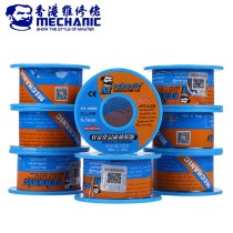MECHANIC 40g 0.3mm Solder Wire Tin Rosin Core Sn63% Pb37% Low Melting Point Welding Soldering Wire Roll