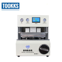 TBK 908 Automatic Bubble Removal Mobile Phone Curved Screen OCA LCD Vacuum Laminating Machine LCD Repair Equipment