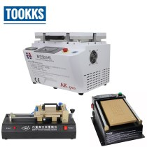 Full Set Phone Lcd Repair Machine AK OCA Laminator + LCD Separator Machine + OCA Flim Laminating Machine For Iphone Samsung