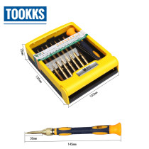 Double head BST-8749 High precision screwdriver set electronics repair screwdriver set for mobile phones and computer repair