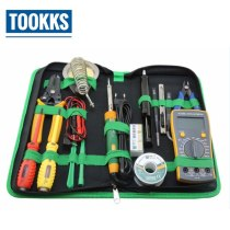 16 in 1 Household Professional Repair Tool Set  Screwdrivers Soldering Iron Multimeter  Tweezers  Full  Set For Mobile Repair
