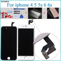 100% Tested New LCD for iPhone 6s  LCD Display with Touch Digitizer Assembly Black/White Free Shipping