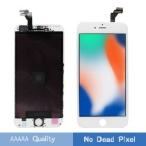 LEOLEO 10pcs/lot White&Black Premium LCD For iPhone 6 Plus 6+ 5.5'' LCD Display Touch Screen Digitizer Assembly+Gift