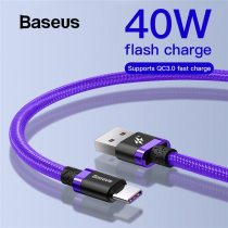 Baseus 5A Falsh Quick Charge USB Type C Cable for Huawei Mate 20 P20 Pro 2A Fast Charging Type C Cable for Xiaomi redmi note 7