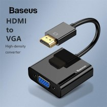 Baseus HDMI to VGA Adapter Male To Famale Converter 1080P Digital to Analog Video Audio for PS3 TV Box Monitor Projector