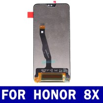 Original For Huawei Honor 8X JSN-L21 JSN Lcd Display Touch Screen Panel Digitizer Assembly Replacement Parts 2160*1080
