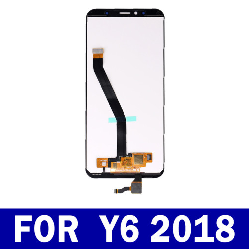 For Huawei Y6 Prime 2018 Lcd Display Touch Screen Panel Digitizer Assembly With Frame 5.7inch+tool