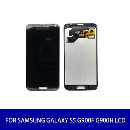 Original For Samsung Galaxy S5 G900F G900H Lcd Display Screen Touch Digitizer with Frame Assembly Replacement