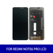 For Redmi Note6 Pro Lcd Display High Brightness Touch Screen Panel Digitizer Assembly Screen Replacement Parts 2160×1080