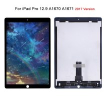 For iPad Pro 12.9 (2017 Version) A1670 A1671 2nd LCD Display Touch Screen Digitizer Panel Assembly With Small Board